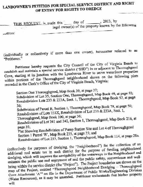 Legal Document No Dredge Tax - Make legal documents
